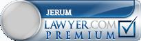 Mark Jerum  Lawyer Badge