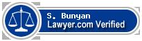 S. Wyanne Bunyan  Lawyer Badge