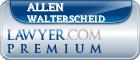 Allen Wayne Walterscheid  Lawyer Badge