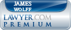 James G. Wolff  Lawyer Badge