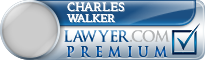 Charles Maxfield Walker  Lawyer Badge