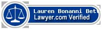 Lauren Michael Bonanni Bettis  Lawyer Badge