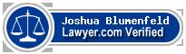 Joshua Ross Blumenfeld  Lawyer Badge