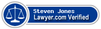 Steven Russell Jones  Lawyer Badge