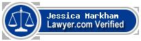 Jessica Markham  Lawyer Badge