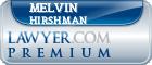 Melvin Hirshman  Lawyer Badge