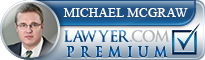 Michael W. McGraw  Lawyer Badge