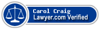 Carol S Craig  Lawyer Badge
