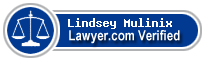 Lindsey Mulinix  Lawyer Badge