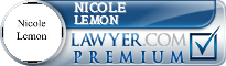 Nicole Lemon  Lawyer Badge
