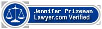 Jennifer Elizabeth Prizeman  Lawyer Badge