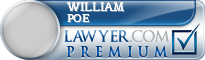 William L Poe  Lawyer Badge
