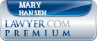 Mary Lorraine Hansen  Lawyer Badge