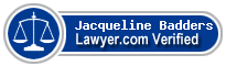 Jacqueline Gagne Badders  Lawyer Badge