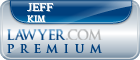 Jeff J Kim  Lawyer Badge