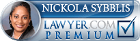 Nickola N. Sybblis  Lawyer Badge