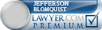 Jefferson Lee Blomquist  Lawyer Badge