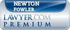 Newton Belnap Fowler  Lawyer Badge