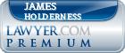 James Warren Holderness  Lawyer Badge