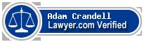 Adam Nathaniel Crandell  Lawyer Badge