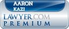 Aaron Halim Kazi  Lawyer Badge