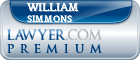William A Simmons  Lawyer Badge