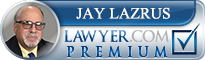 Jay N. Lazrus  Lawyer Badge