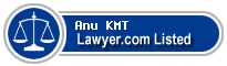 Anu KMT Lawyer Badge