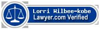 Lorri L. Wilbee-kobe  Lawyer Badge