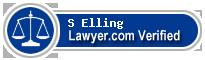 S David Elling  Lawyer Badge
