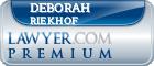 Deborah Kay Riekhof  Lawyer Badge