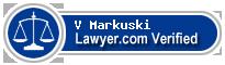 V Peter Markuski  Lawyer Badge