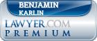 Benjamin M. Karlin  Lawyer Badge