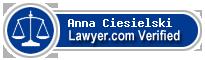 Anna P F Ciesielski  Lawyer Badge