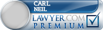 Carl R Neil  Lawyer Badge