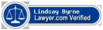 Lindsay Byrne  Lawyer Badge