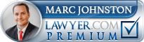 Marc A. Johnston  Lawyer Badge