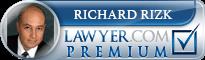 Richard H Rizk  Lawyer Badge