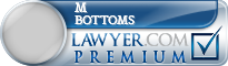 M Christian Bottoms  Lawyer Badge