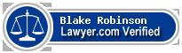 Blake V Robinson  Lawyer Badge