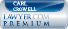 Carl D Crowell  Lawyer Badge