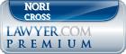 Nori J Mccann Cross  Lawyer Badge