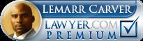 Lemarr E Carver  Lawyer Badge