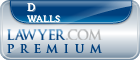 D Mack Walls  Lawyer Badge