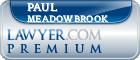 Paul B Meadowbrook  Lawyer Badge