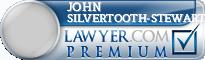 John Silvertooth-Stewart  Lawyer Badge