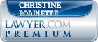 Christine Robinette  Lawyer Badge