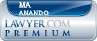 Ma Deva Anando  Lawyer Badge