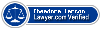 Theadore A Larson  Lawyer Badge