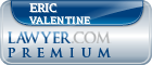Eric W Valentine  Lawyer Badge
